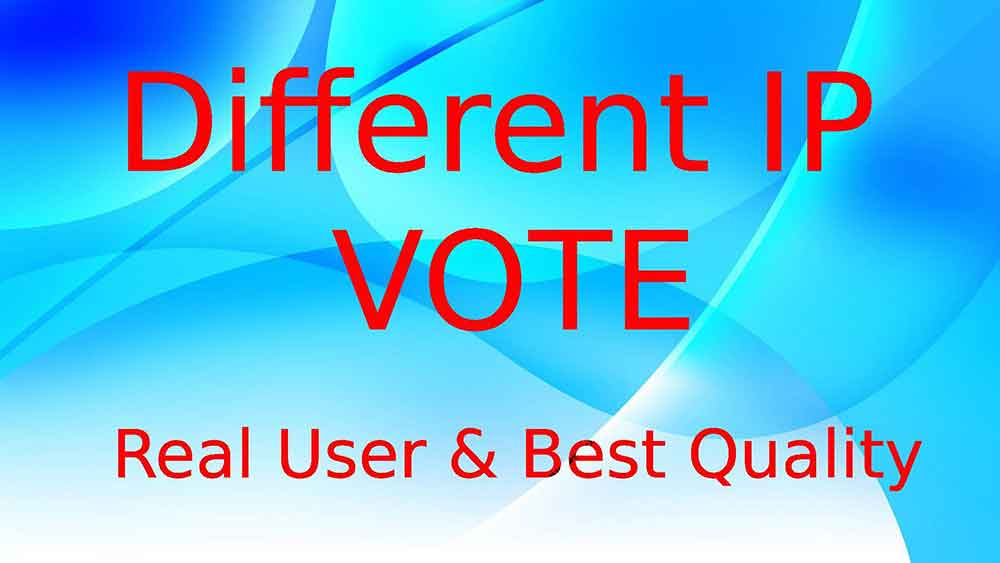 Buy Unique IP Votes for Best Contest
