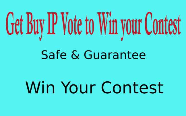 Get Buy IP Vote to Win your Contest