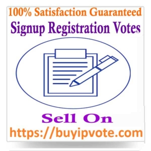 Buy Signup/Registration Votes